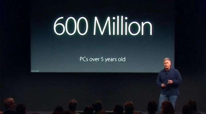 Phil Schiller van Apple… Sad, really sad!