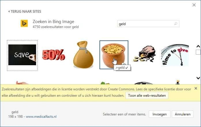 Zoek online naar afbeeldingen.