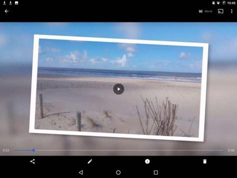 Open de video die je wilt aanpassen en klik op het potloodje.