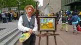 Van Gogh hemzelf! Foto's 50 cent.