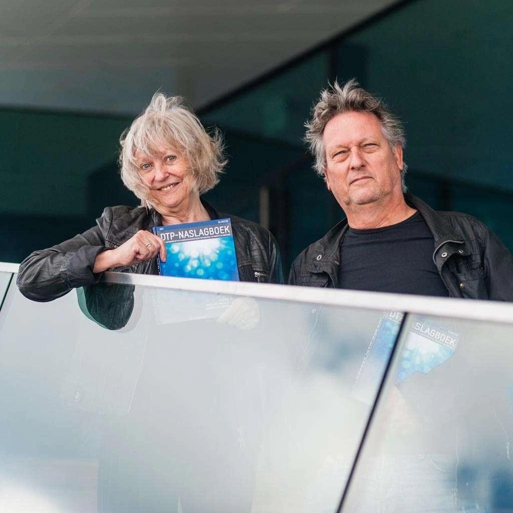 Annelize van Dijk en Jan Ris.