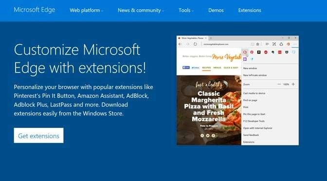 Microsoft Edge met extensions: eindelijk bruikbaar?