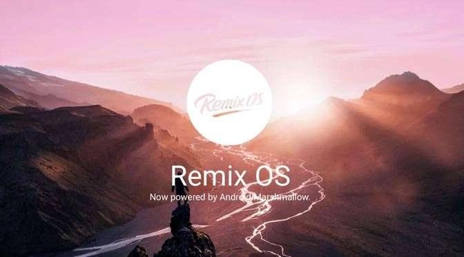 Het Remix OS op de Nexus 9