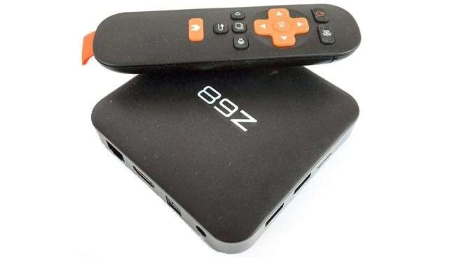 Slimme televisie met een Android stick- of box
