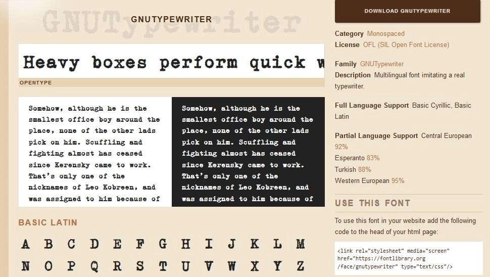 Produceer zelf eens wat X-Files met dit lettertype.