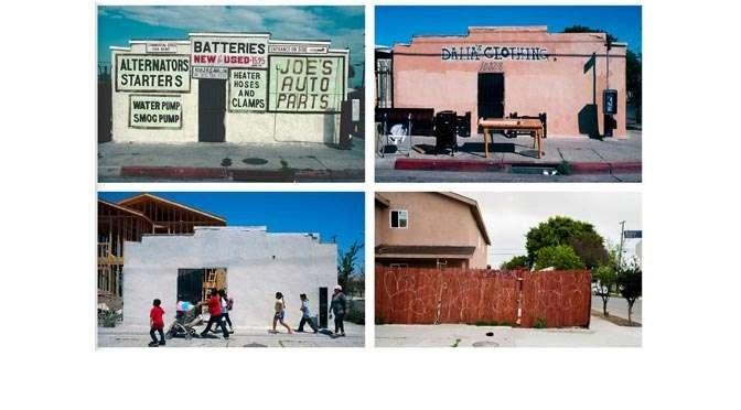 Reizen in de tijd door de armste buurten van Amerika