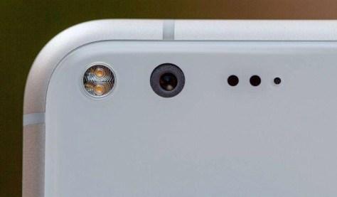 De camera van de Google Pixel.