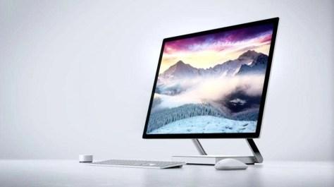 De Surface Studio van Microsoft.