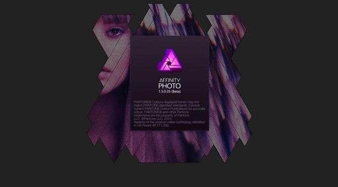 Eindelijk is de bèta van Affinity Photo voor Windows er!