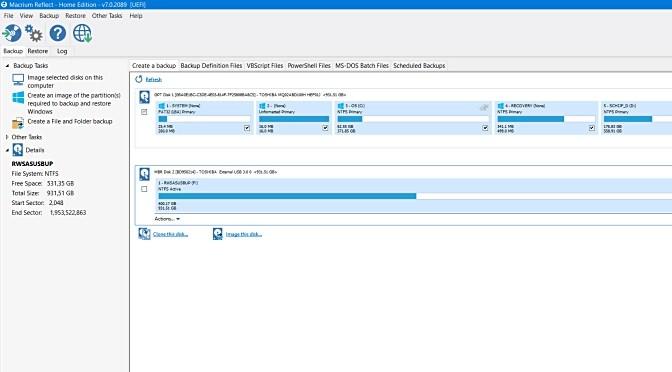 Met Macrium Reflect maakt u snel een systeem back-up (image)