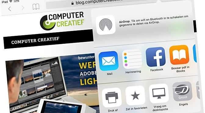 Afdruktrucs voor iPad, iPhone & co