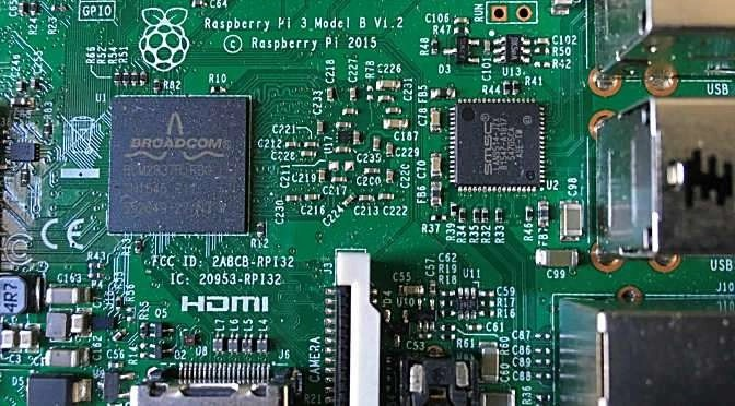 De Raspberry Pi voorbij