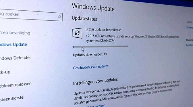 Er is een noodpatch beschikbaar voor Windows 10