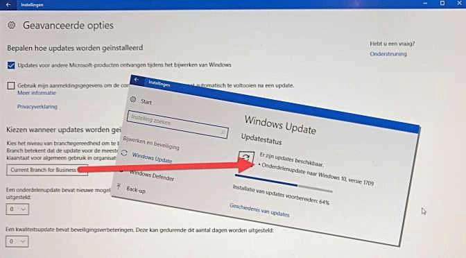 Dit mag natuurlijk nóóit gebeuren tijdens een updateronde van Windows