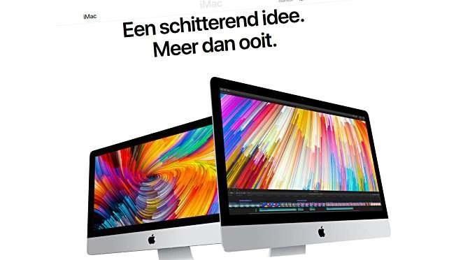 De beoogde iMac
