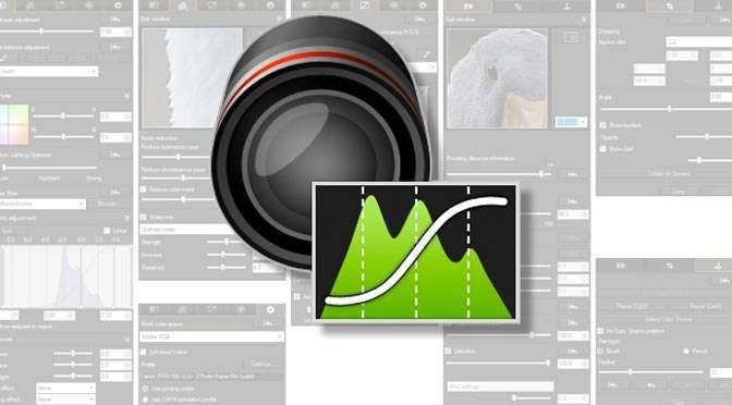 Aan het werk met Digital Photo Professional van Canon