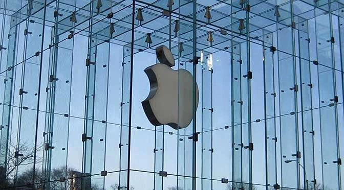Wat maakt Apple morgen wereldkundig? (bron afbeelding: https://commons.wikimedia.org/wiki/File:Apple_Store.JPG)