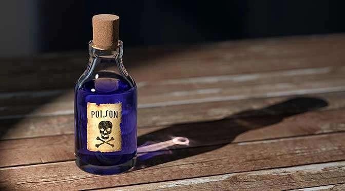 Nu ook moord in Facebook-schandaal? (bron afbeelding: https://pixabay.com/nl/poison-fles-geneeskunde-oude-1481596/)