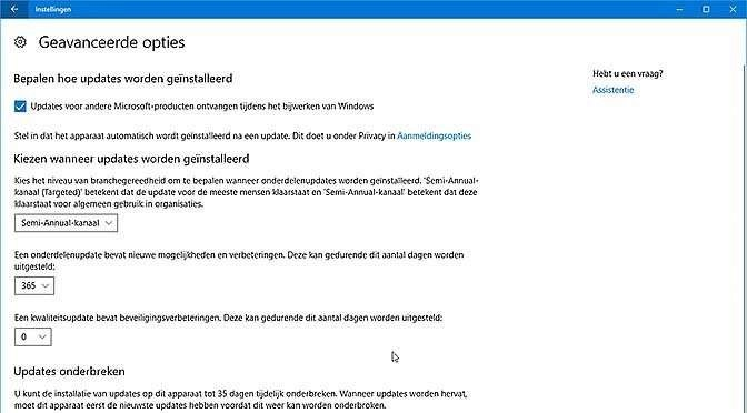 Dek je in tegen komende Windows-upgrade