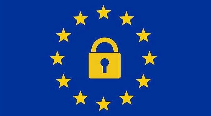 Nieuwe privacywetgeving vandaag ingevoerd (bron afbeelding: https://pixabay.com/nl/europa-gdpr-data-privacy-3220208/)