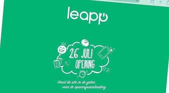 Leapp gaat door