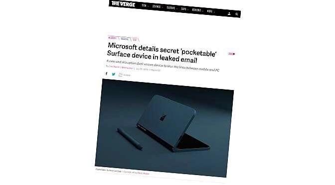 Microsoft terug naar mobiel met Andromeda?