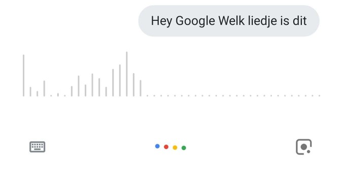 Hey Google! Welk liedje is dit?