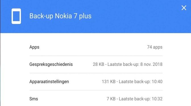 Een back-up maken van je Android-telefoon: Nu back-up maken!