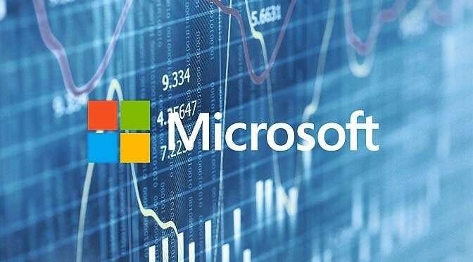 Microsoft floreert (maar niet door Windows)