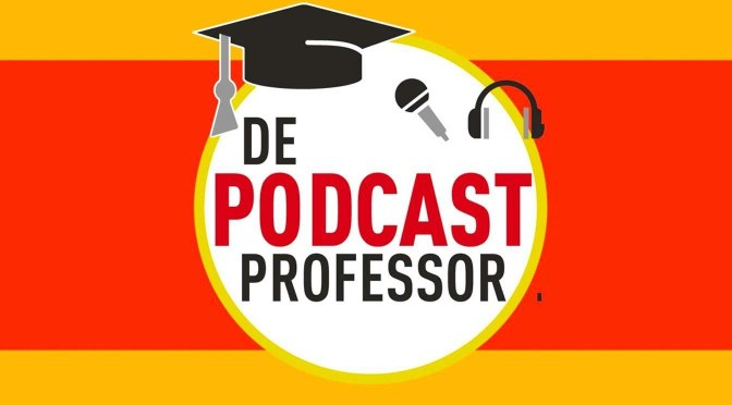 De Podcastprofessor leert je podcasts luisteren en maken