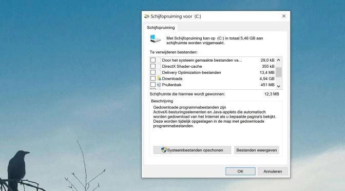 Pas op met Windows standaardmappen