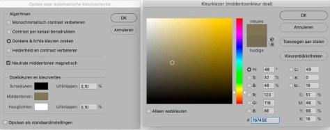 Kleurcorrecties in Photoshop