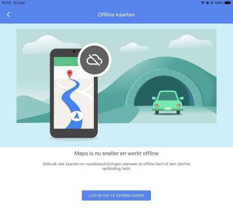 Google: steeds minder privacy online met offline-kaarten downloaden