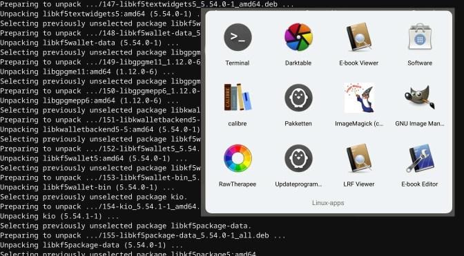 Linux op een Chromebook – 2