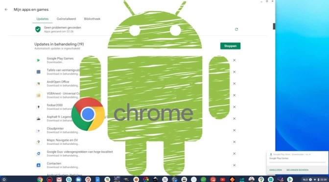 Android automatische app-updates op Chromebook