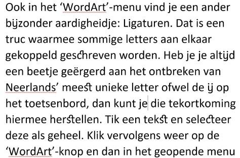 WordArt in Word