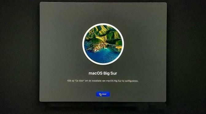 macOS herstellen met schone installatie