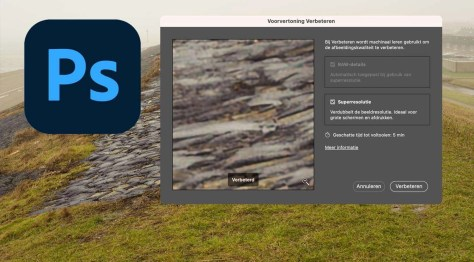 Superresolutie in Adobe Camera Raw