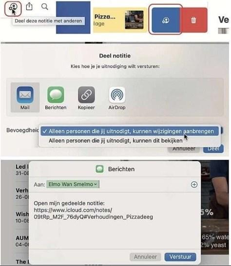 macOS Big Sur notities