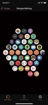 standaardapps van de Apple Watch