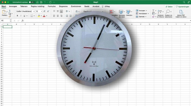 Zelf een klok maken in Excel