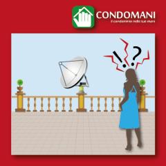 Cosa dice la legge sull'installazione di un'antenna in un condominio?