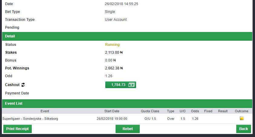 1.2 odds rollover challenge