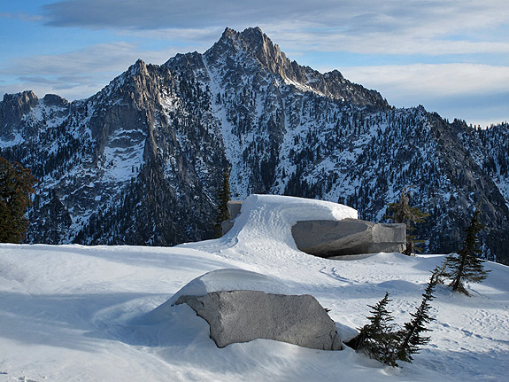 Sawtooth Mountain.