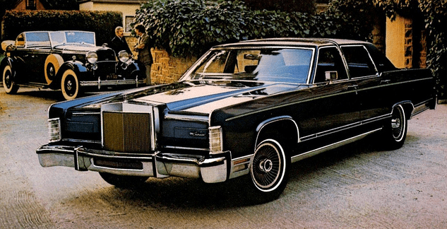 1979 Town Lincoln Car Series Collectors