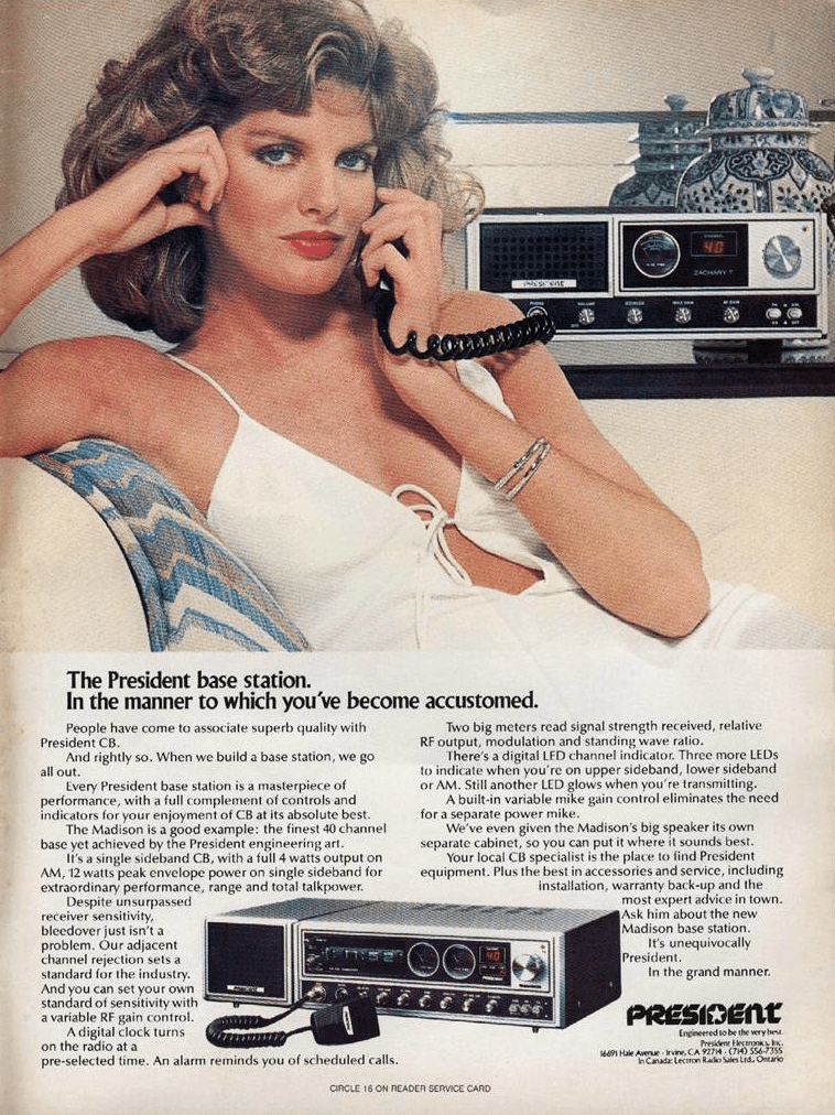 Convoy Madness 12 Classic Cb Radio Ads The Daily Drive