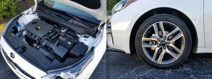 2019 Kia Forte EX Egine and Wheels