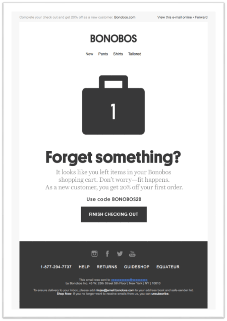Abandoned Cart Reminders with Coupon Code
