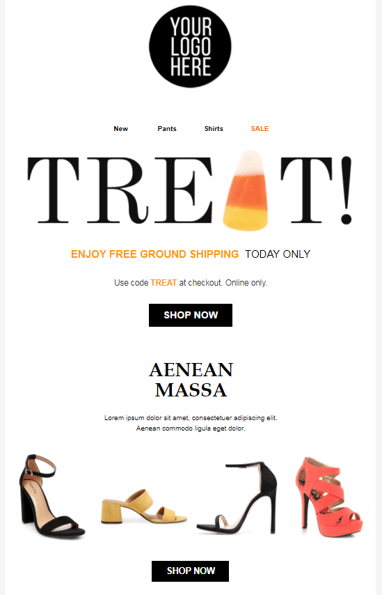 Halloween Email Campaign - Treats