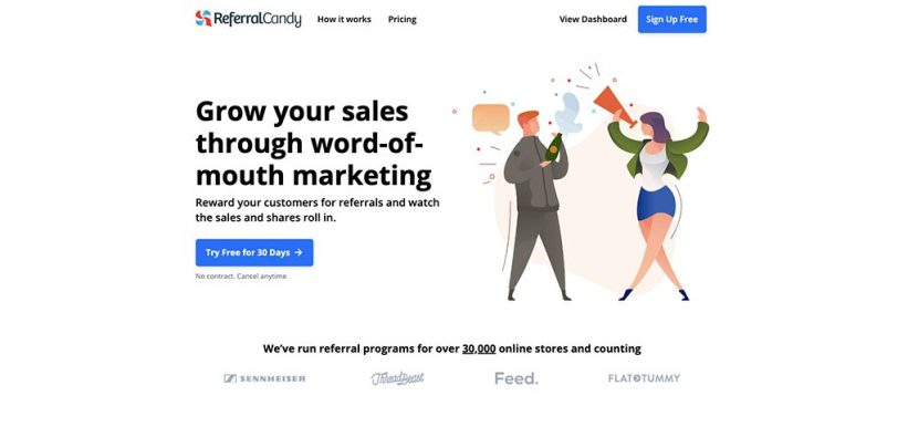 Automated Shopify Referral Apps: ReferralCandy